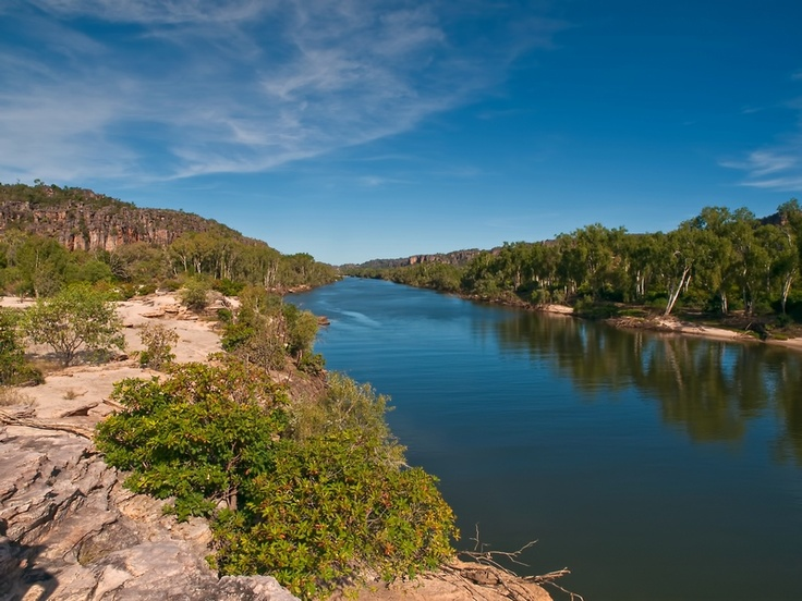 East Alligator River West Australia. JHa