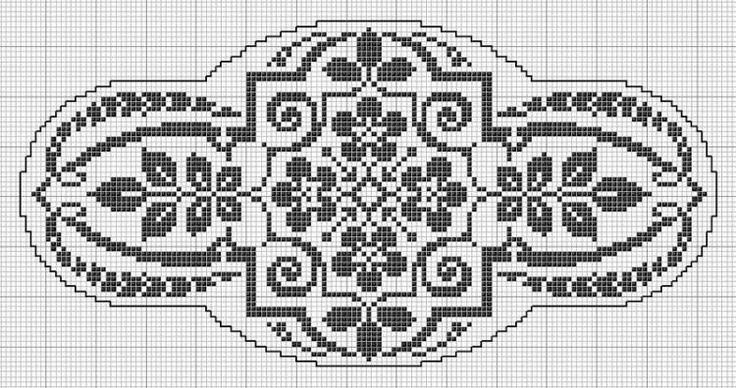 Great website with lots of cross stitch patterns - English & Spanish - Oval  50