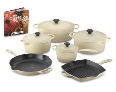 I love the Le Creuset Signature 10-Piece Cookware Set with Book on Williams-Sonoma.com
