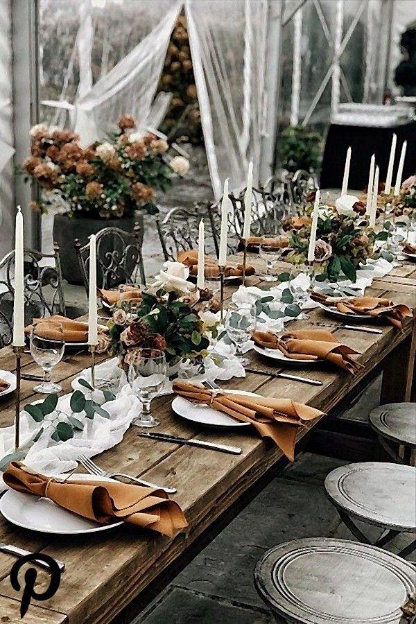 24 Rustikale Rost Hochzeits Farbideen In 2020 November Hochzeit Hochzeit Gedecke Hochzeit Tischdekorartion