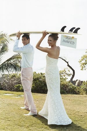 Beach wedding. So your honeymoon's booked. Now it's time to book you hen night. Why not book a hen weekend in Puerto Banus located in the glamourous resort of Marbella, Spain. Visit http://henmarbella.com/ for prices and packages available. It's much cheaper than you think!