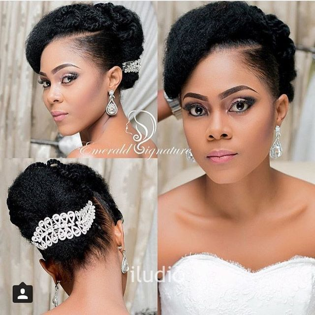 Elegant Hairstyles For Nigerian Brides: 11 Best African Bridal Hairstyles Images On Pinterest