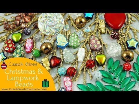 Video! CHRISTMAS & Lampwork Czech Glass Beads And Buttons - New Arrivals     ------  #dawanda #dawanda_de #dawandashop #etsy #etsyshop #etsystore #etsyfinds #etsyseller #amazon #amazondeals #alittlemercerie  #christmas #christmasbeads #christmasjewelry #christmasdecorations #lampwork #lampworkbeads #lampworkjewelry #glassbeads #czechglassbeads #czechglassjewelry