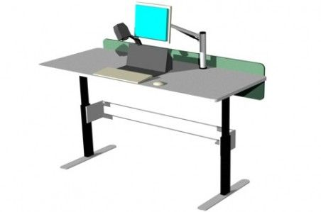 Our BOOKFLO RETURNS Processing Workstation can be made to length to fit any processing room