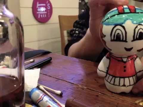 Screen capture of my video: 'Amo's adventures in Korea'  In this video is a time-lapse of when I created my Crayon Pop 크레용팝 Doll at the MUSTOY Cafe in Hongdae, Korea in early December 2014.  For the video: https://www.youtube.com/watch?v=LJV55Ihc8IU  For the finished piece on pintrest: https://www.pinterest.com/pin/506232814342238978/  #art #amo #pencil #sketch #drawing #craft #artwork #무스토이 #cafe #korea #seoul #southkorea #hongdae #doll #Mustoy #crayonpop #kpop #크레용팝