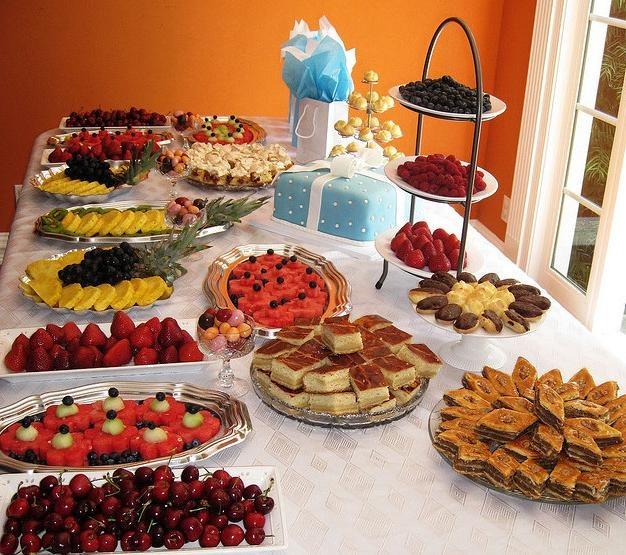 Bridal Shower Luncheon Food Ideas