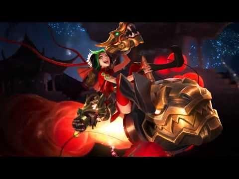 Lunar Revel 2015 (Firecracker Jinx) League Of Legends Login Screen With Music - YouTube
