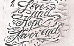 Tattoo Fonts Mobile Wallpapers