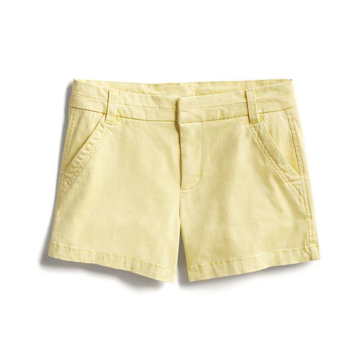 Spring Stylist Picks: Pastel yellow shorts