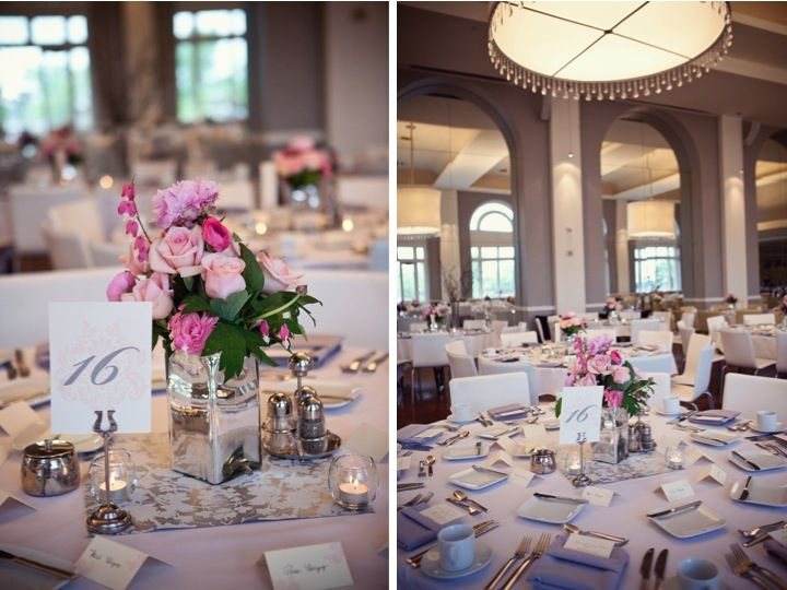 Classic pink gray wedding part weddings