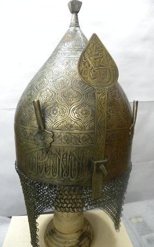 Another fine helmet reminds of of salah ad din's in Kingdom of heaven
