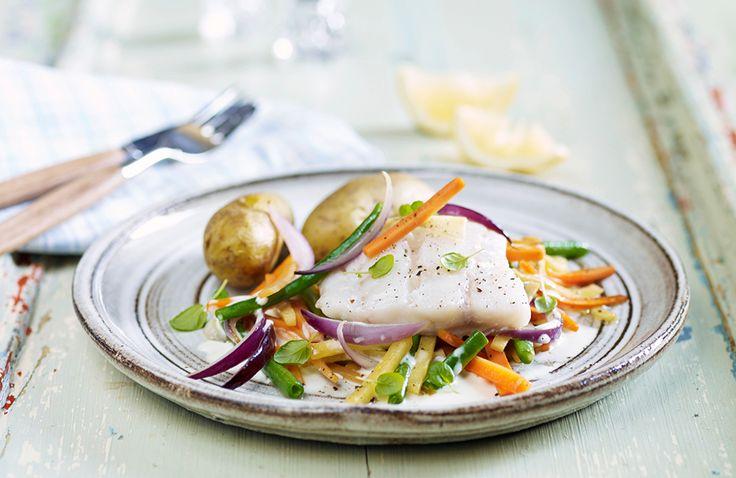 Lettsaltet torsk med rotgrønnsaker | www.greteroede.no | Oppskrifter | www.greteroede.no
