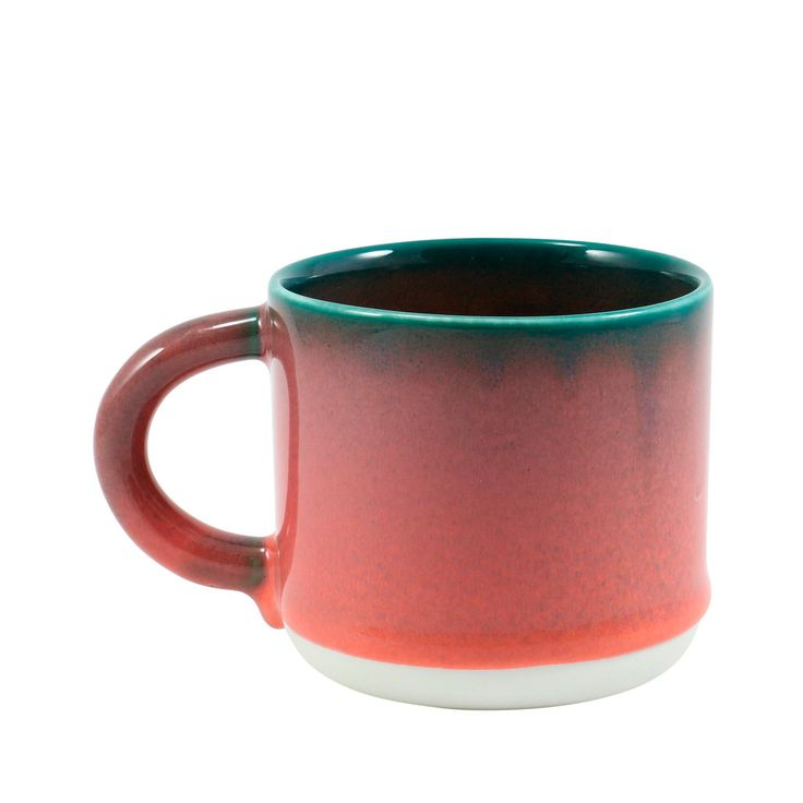 The Chug Mug, introduced in April 2017, is part of our Tokyo tableware series. The mug features a large handle and holds a healthy serving of coffee or tea. Due