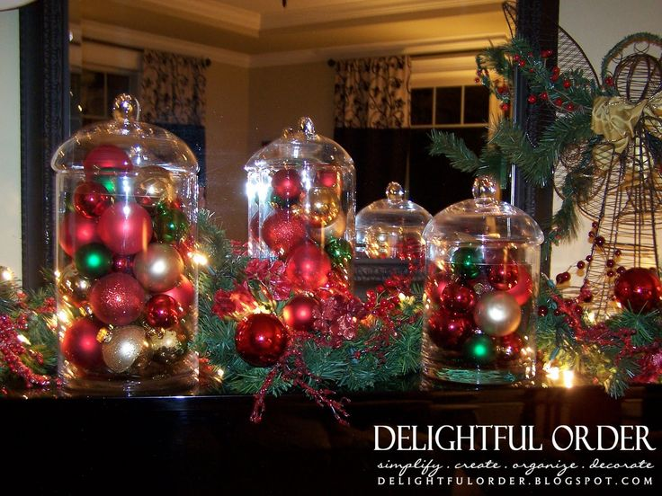 Christmas Decorating Ideas For Glass Jars : Best images about glass apothecary jars on