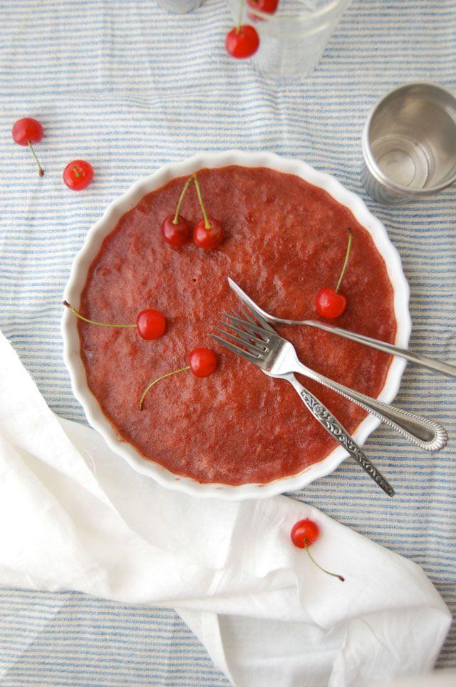 Sour Cherry Granita | Desserts | Pinterest
