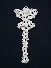 Ravelry: Thread Angel Bookmark pattern by Angie Kowalsky