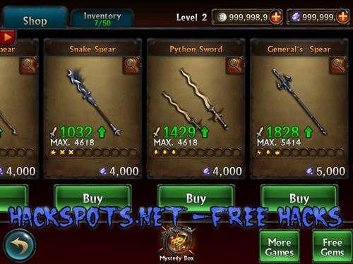 Eternity Warriors 2 Hack Cheats Free Coins Gems