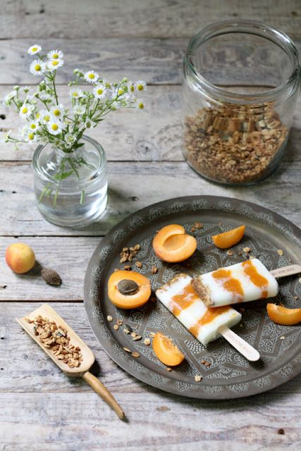 HerzStück: Aprikosen-Joghurt-Popsicle