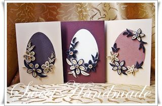 • Sweet Handmade •: Chocolate - Easter Quilling Card