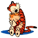 Calvin Hobbes. I have so many great memories of this comic strip