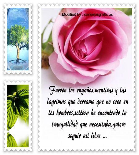 bajar tarjetas con pensamientos para solteras,descargar tarjetas con pensamientos para solteras: http://www.consejosgratis.es/pensamientos-de-solteras-felices/