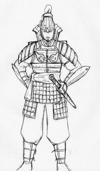 신라의 군사 Silla soldier(infantryman)