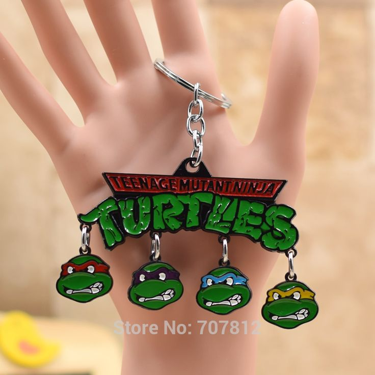 Teenage Mutant Ninja Turtles  Keychain Metal Pendant Key Chains Key Accessories Collection TMNT  KC070   FSX1
