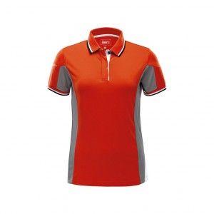 Marinepool Madison Tec Poloshirt Damen orange