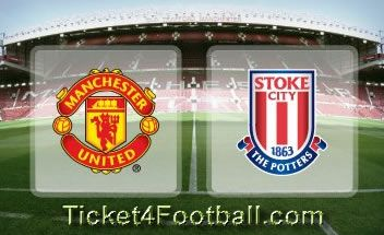 Match: Manchester United Vs Stoke City Date :	Saturday, October 26, 2013 (15:00) Venue :	Old Trafford Location :	Manchester, United Kingdom  Tickets are available for the match on very reasonable price. Fans can buy the tickets from Ticket4Football to enjoy the live match between Manchester United and Stoke City at Old Trafford on the coming weekend.