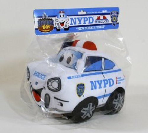 Bronx Toys NYPD Plush Toy by Bronx Toys. $8.43. This toy meets all US CPSC standards and requirements.. Printed fabric detail & 100% Polyester fill. Officially Licensed product of New York City & Custom NYPD  packaging. Surface washable. Lights! Sirens! It's New York City's Finest keeping the city safe!  This beautifully hand made plush toy has all of the detail and excitement of a real New York City Patrol Car!
