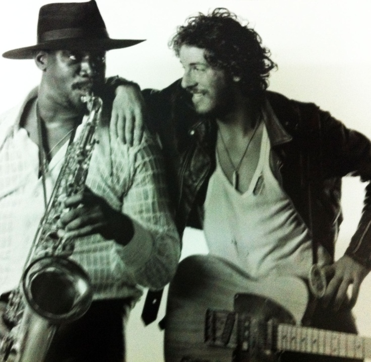 Clarence Clemons (the Big Man) & Bruce Springsteen (the Boss)