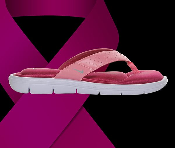 Pamper your feet in the Nike Comfort Thong flip-flops in Pink at Shoe Carnival.