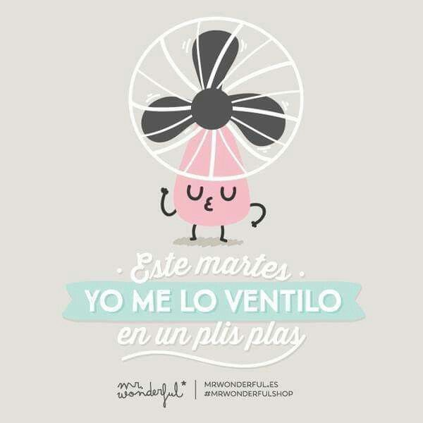 ¡Martes! Mr. Wonderful