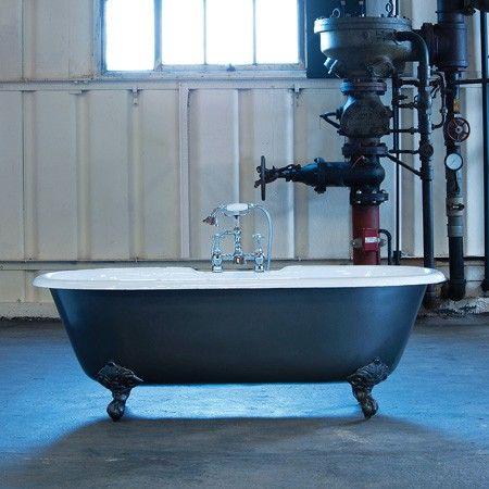 KlassiekeBaden : Vrijstaand op poten : Gietijzer bad - Arroll Moulin