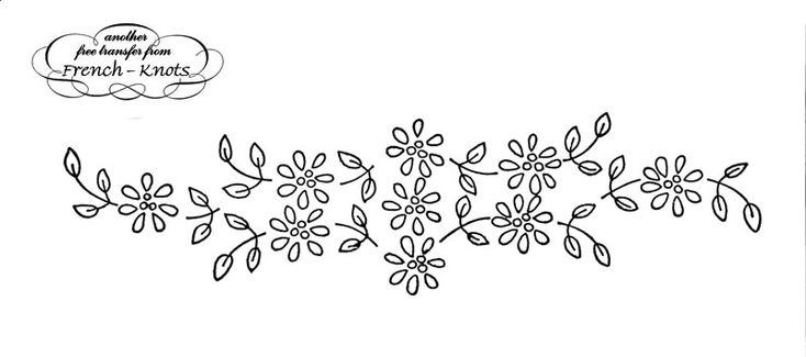 embroidery transfers for hand embroidery | Fabulous Floral Frenzy Embroidery Transfer Patterns