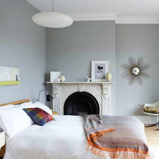 Light modern bedroomWall Colors, Grey Walls, Grey Bedrooms, Decor Ideas, Bedrooms Design, Painting Ideas, Wall Colours, Bedrooms Ideas, Gray Wall