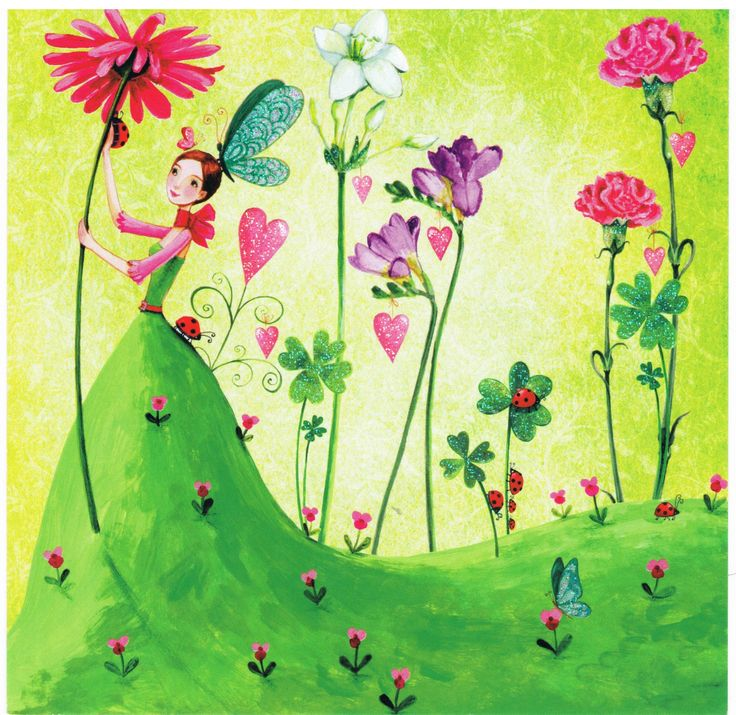 Fée de la Nature - Cartes d'Art/Mila Marquis - Lulu Shop