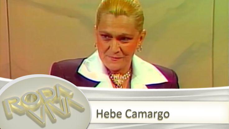 A TV Cultura relembra a participação da cantora e apresentadora Hebe Camargo no programa Roda Viva (1987)