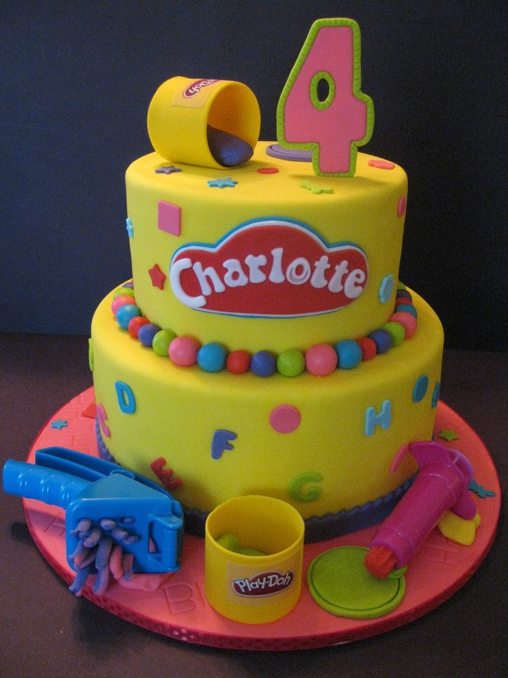 play-doh birthday cake - Google Search
