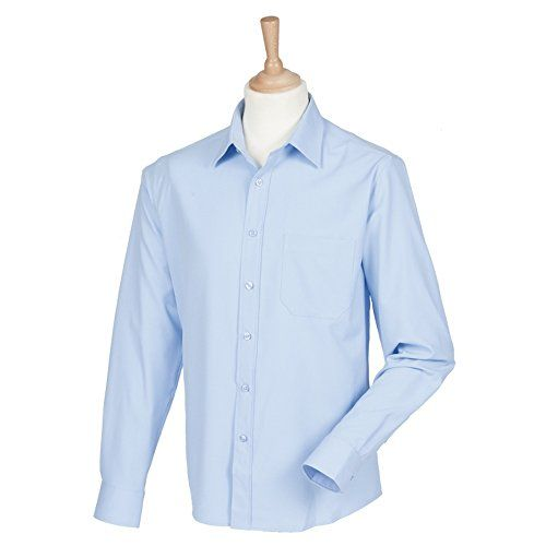 140 kr. Henbury Wicking anti-bacterial long sleeve shirt Light Bl... https://www.amazon.co.uk/dp/B00U2T1120/ref=cm_sw_r_pi_dp_x_6PR4xbQZ7R67V