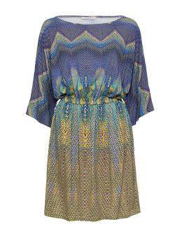 Persian Cold Shoulder Dress