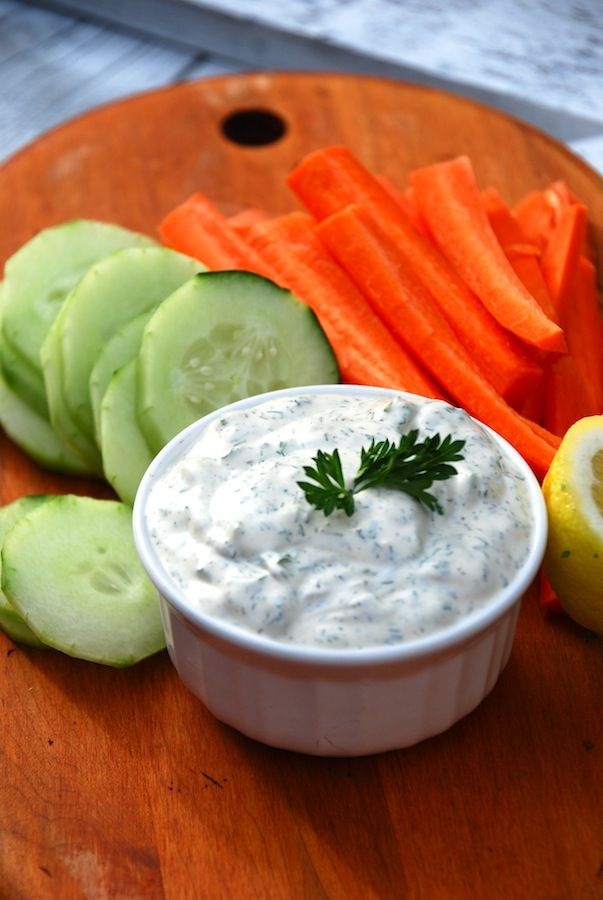 Delicious Dill Vegetable Dip