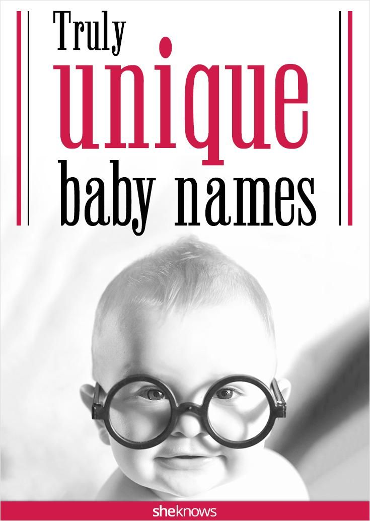 Unique baby names for boys and girls