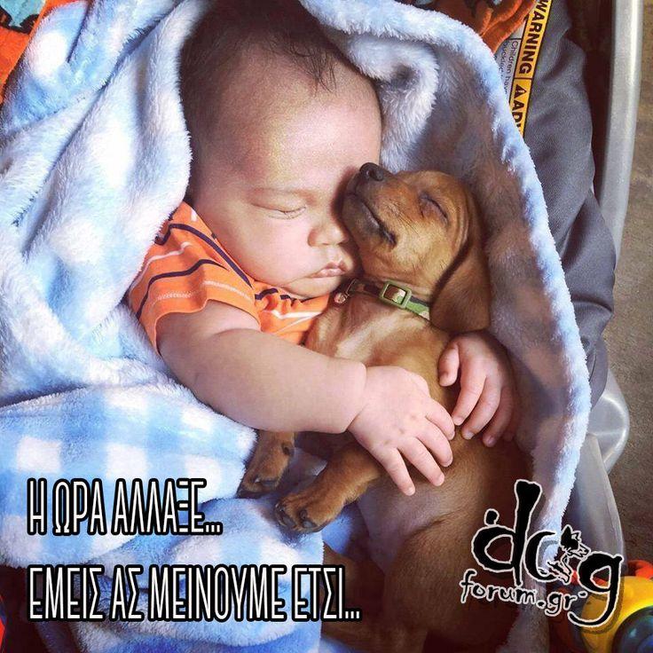 #love #baby #puppy