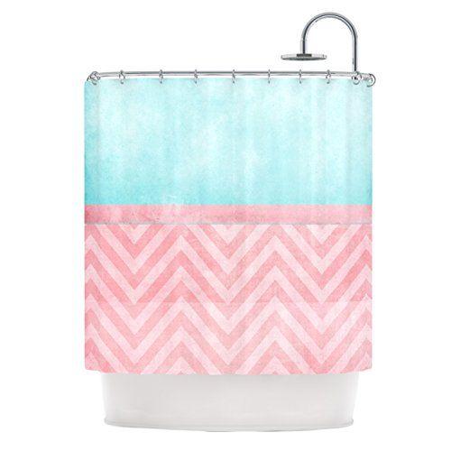 Aqua and Pink Chevron Shower Curtain  pinkchevronshowercurtainglam   Turquoise  22 best Pink Chevron Shower Curtain images on Pinterest   Chevron  . Turquoise Chevron Shower Curtain. Home Design Ideas