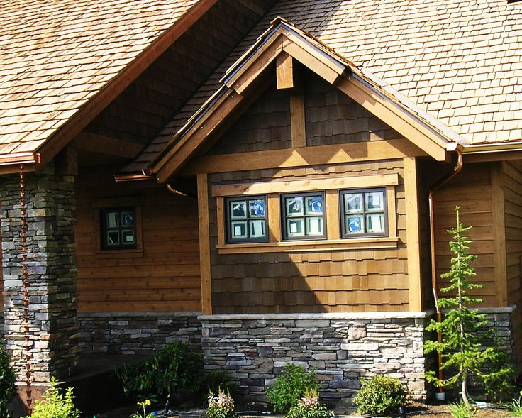 15 best siding and color options for ridge line cabins for Wood house siding options