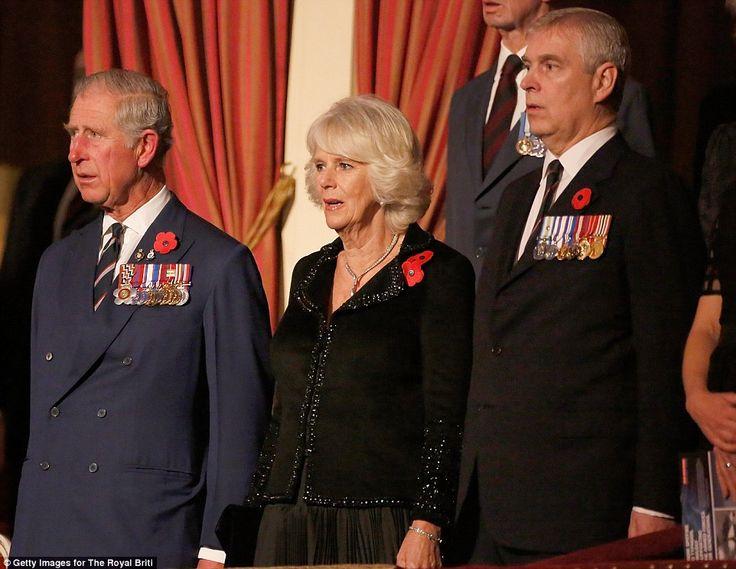"""La famille Royale d'Angleterre a assisté au """" Festival of Remembrance """". 2014"""