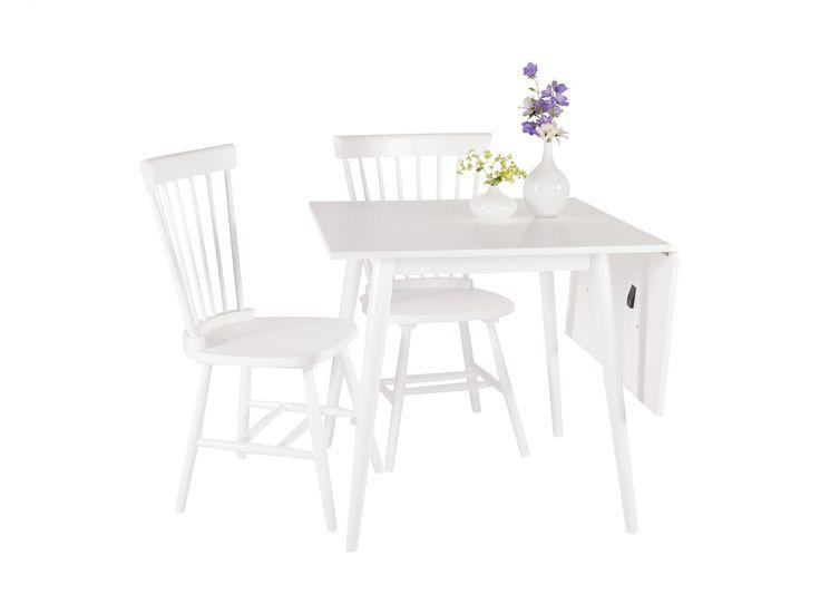 KÖLN Klaffbord 80 Vit i gruppen Inomhus / Bord / Matbord hos Furniturebox (100-18-108699)