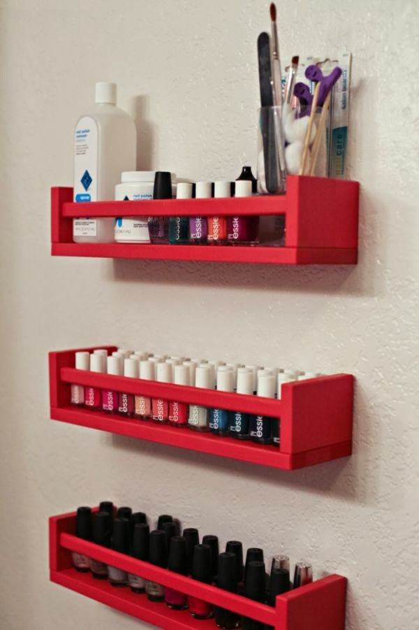 Organize sem frescuras!: Ideias simples e charmosas para organizar esmaltes