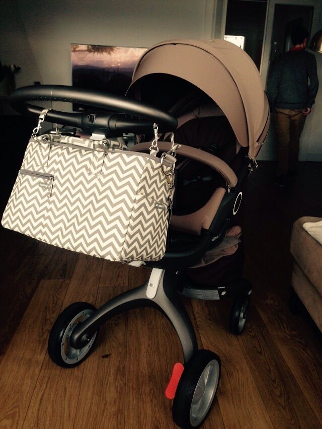New chevron MELOTOTE by MELOBABY... looks fab on any pushchair!